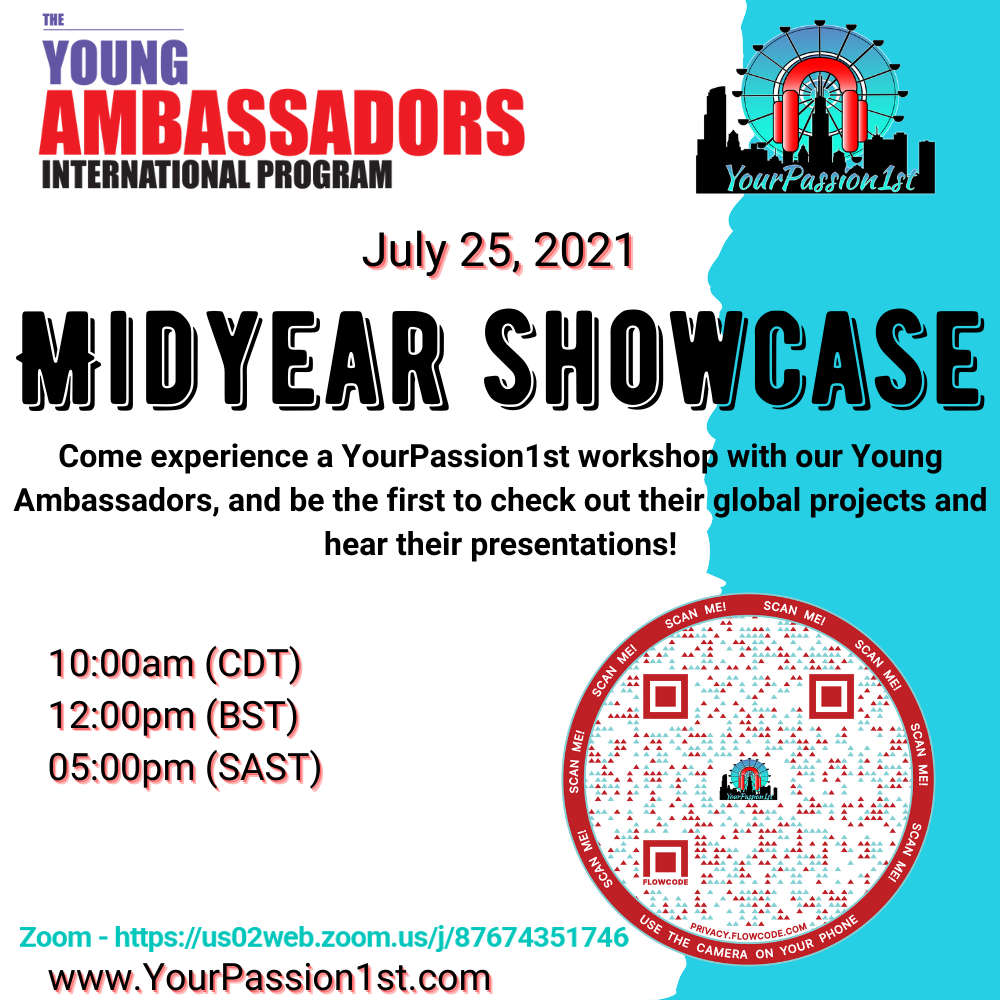 YourPassion1st Young Ambassadors International Program